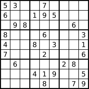 Crucigrama 300x300 - Ejercicios para entrenar la memoria