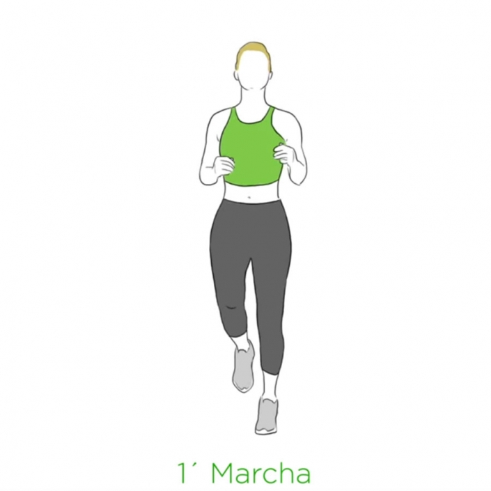 ejercicios salud marcha