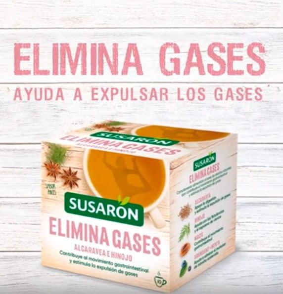 Eliminar gases con Susarón
