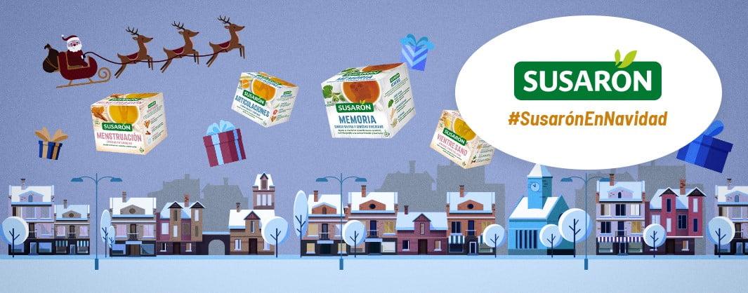 Susarón - Una Navidad feliz es una Navidad equilibrada. ¿Quieres ganar salud?