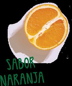 sabor naranja - Articulaciones